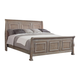 All-American Affinity Queen Sleigh Bed in Reclaimed Gray