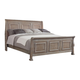 All-American Affinity King Sleigh Bed in Reclaimed Gray