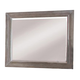 All-American Affinity Landscape Mirror in Reclaimed Gray