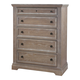 All-American Affinity 5 Drawer Chest in Reclaimed Gray