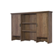 Legacy Classic Kids Fulton County Dresser Hutch in Tawny Brown 5900-7202