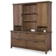 Legacy Classic Kids Fulton County Drawer Dresser with Hutch in Tawny Brown