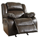 Branton Power Rocker Recliner in Antique U7190198