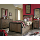 Legacy Classic Kids 4-Piece Fulton County Panel Bedroom Set in Tawny Brown