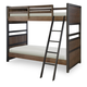 Legacy Classic Kids Fulton County Twin over Twin Bunk Bed in Tawny Brown 5900-8110K