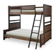 Legacy Classic Kids Fulton County Twin over Full Bunk Bed in Tawny Brown 5900-8140K PROMO