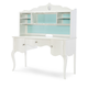 Legacy Classic Kids Tiffany Desk with Hutch in Pearl White 5930-6100