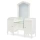 Legacy Classic Kids Tiffany Vanity with Mirror in Pearl White