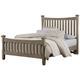 Virginia House Bedford King Poster Bed in Washed Oak