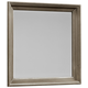 Virginia House Bedford Landscape Mirror in Washed Oak BB81-445