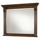 All-American Woodlands Landscape Mirror in Oak