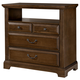 Vaughan-Basset Woodlands 4 Drawer Media Chest in Oak
