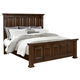 All-American Woodlands King Mansion Bed in Cherry
