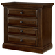 All-American Woodlands 2 Drawer Nightstand in Cherry
