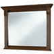 All-American Woodlands Landscape Mirror in Cherry