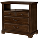 All-American Woodlands 4 Drawer Media Chest in Cherry