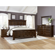 All-American Woodlands 4pc Mansion Bedroom Set in Cherry
