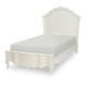 Legacy Classic Kids Tiffany Twin Platform Panel Bed in Pearl White 5930-4113K