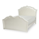 Legacy Classic Kids Tiffany Full Upholstered Panel Bed in Pearl White 5930-4814K