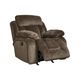 Stricklin Power Rocker Recliner in Chocolate 8650398