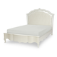 Legacy Classic Kids Tiffany Full Upholstered Platform Bed in Pearl White 5930-4804K