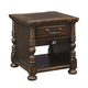 Brosana Rectangular End Table in Brown T638-3