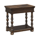 Brosana Chair Side End Table in Brown T638-7