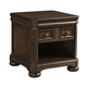 Lamonte Rectangular End Table in Brown T868-3