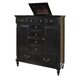 New Classic Martinique Mule Chest in Rubbed Black 00-222-075