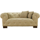 Armen Living Tuxedo Loveseat in Beige LCTU2BE