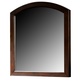 Liberty Furniture Avalon Vanity Mirror in Dark Truffle 505-BR70M