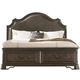 Coaster Carlsbad California King Storage Bed in Vintage Espresso 204040KW
