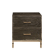 Ligna Brentwood Nightstand in Anthracite 9522 AN