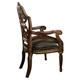 AICO Villa Valencia Writing Desk Chair in Chestnut 72044-55