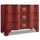 Hooker Furniture Mélange Saffron Crackle Chest in Red 638-85255-RED