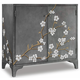 Hooker Furniture Mélange In Bloom Door Chest 638-85271-GRY