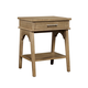 Stone & Leigh Chelsea Square Bedside Table in French Toast 584-63-80