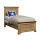 Stone & Leigh Chelsea Square Twin Panel Bed in French Toast 584-63-35