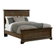 Stone & Leigh Chelsea Square Queen Panel Bed in Raisin 584-13-45