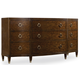 Hooker Furniture Skyline Dresser in Cathedral Cherry 5336-90002