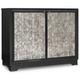 Hooker Furniture Mélange Jett Cut Glass Chest 638-85272-DKW