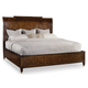 Hooker Furniture Skyline California King Platform Sleigh Bed in Cathedral Cherry