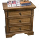 Liberty Covington Cottage I Three Drawer Nightstand in Sunset Brown 193-BR61