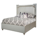 Aico Bel Air Park King Upholstered Bed in Champagne 9002000EK3-201