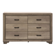 Liberty Sun Valley Drawer Dresser in Sandstone 439-BR31