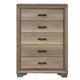 Liberty Sun Valley 5-Drawer Chest in Sandstone 439-BR41