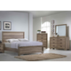 Liberty 4-Piece Sun Valley Panel Bedroom Set in Sandstone