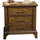 Liberty Mill Creek 3-Drawer Nightstand in Rustic Cherry 458-BR61