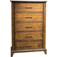 Liberty Mill Creek 5-Drawer Chest in Rustic Cherry 458-BR41