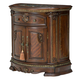 Aico Bella Veneto 1 Drawer Nightstand in Cognac 9051040-202
